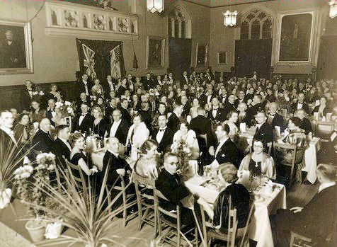 Banbury Rotary Club Charter Night October 25th. 1935