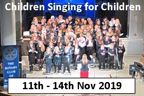 Children Singing for Children Concerts – Nov 2019