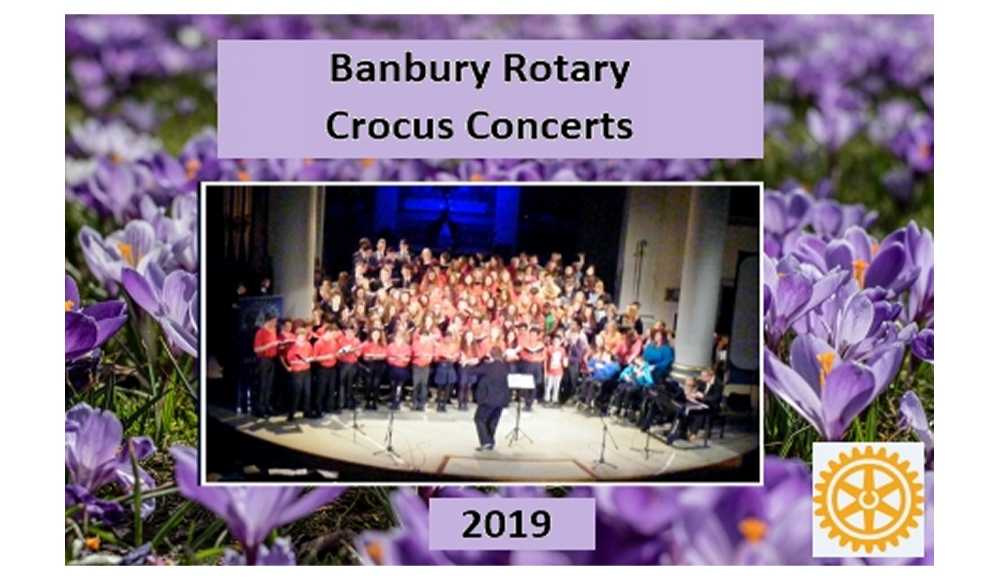First Crocus Concert coming up  – 12th Mar 2020